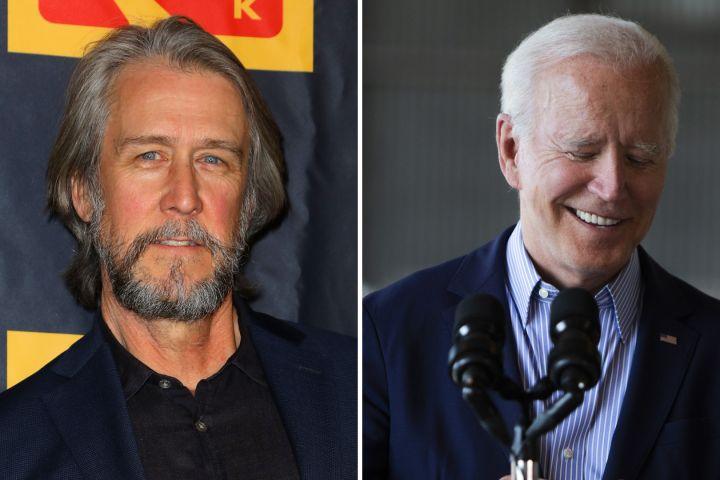 Alan Ruck, Joe Biden