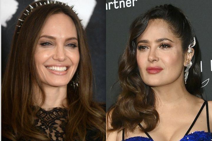 Angelina Jolie - Salma Hayek