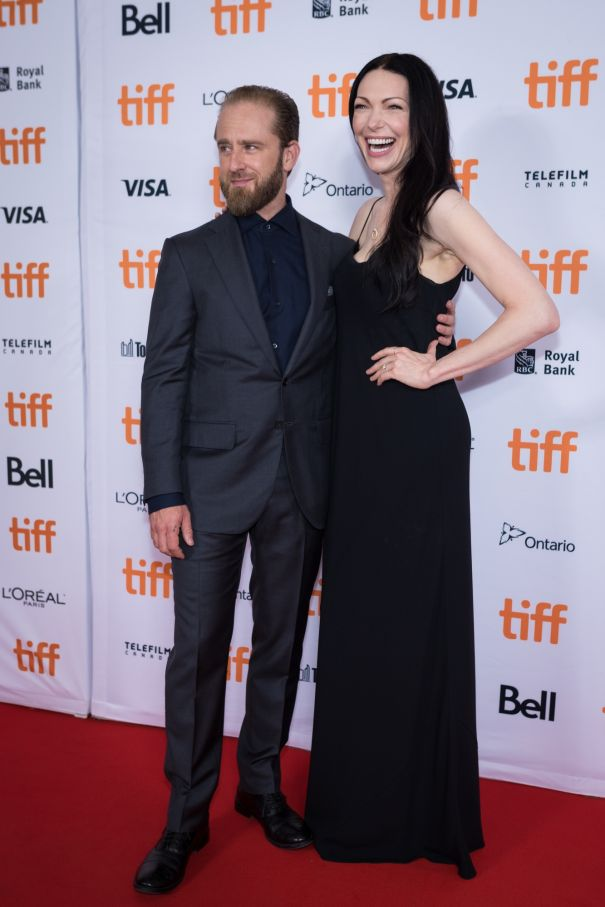 Ben Foster And Laura Prepon