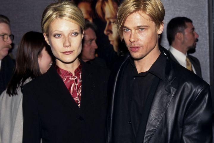 Gwyneth Paltrow and Brad Pitt.