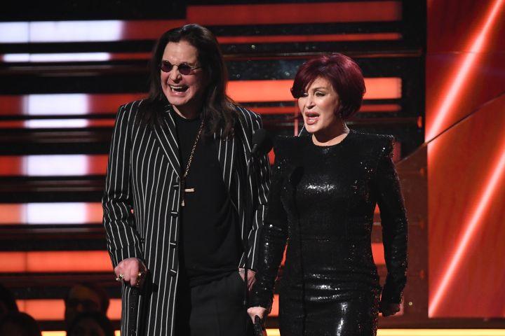 Ozzy and Sharon Osbourne.