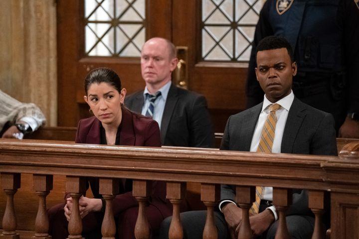 "amie Gray Hyder as Officer Katriona ""Kat"" Azar Tamin, Demore Barnes as Deputy Chief Christian Garland"