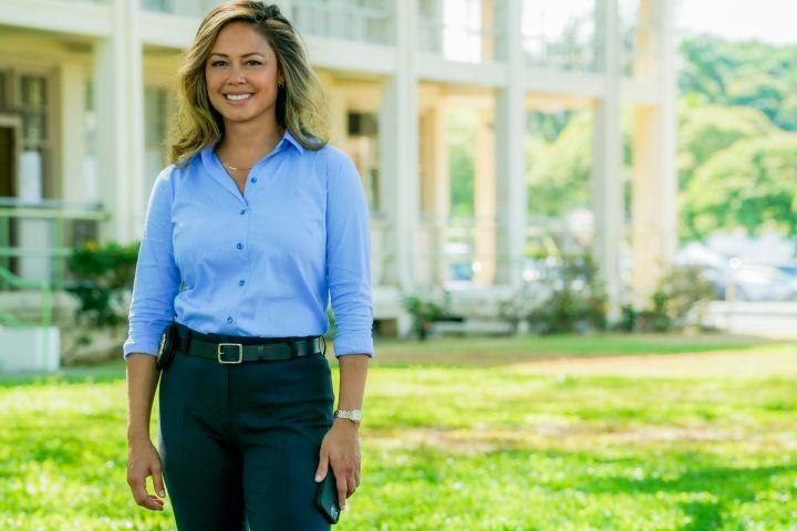 """Vanessa Lachey in """"NCIS: Hawaiʻi""""."""