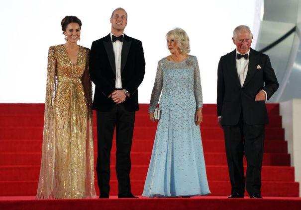 The Royals Arrive