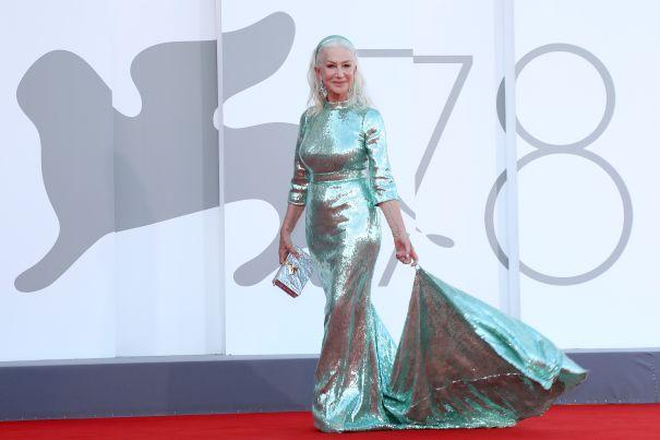 Helen Mirren Is A Turquoise Dream