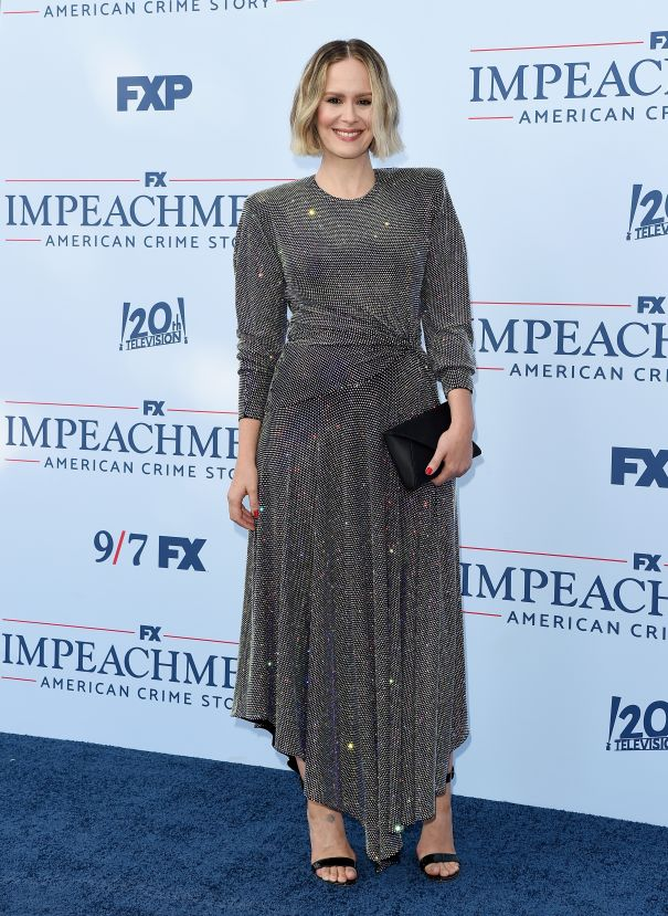 Sarah Paulson Hits 'Impeachment: American Crime Story' Premiere