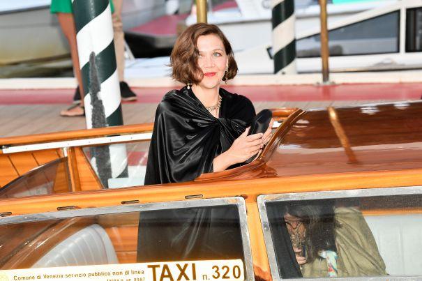 Maggie Gyllenhaal Makes An Entrance
