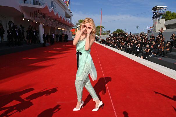 Kristen Stewart Playful In Venice