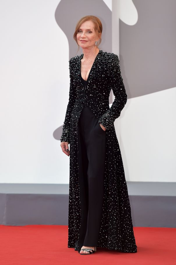 Isabelle Huppert Wows In Black