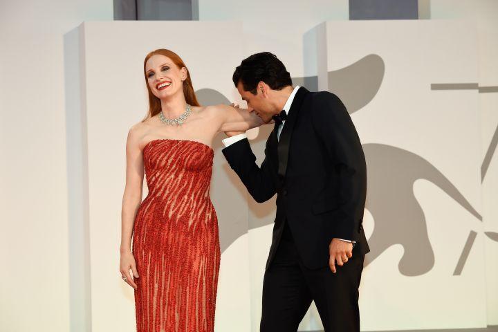 Jessica Chastain, Oscar Isaac