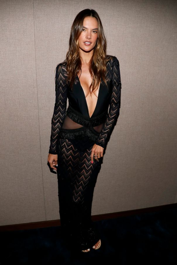 Alessandra Ambrosio Poses In Sultry PatBO