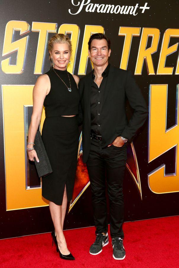 Rebecca Romijn, Jerry O'Connell Celebrate Star Trek Day
