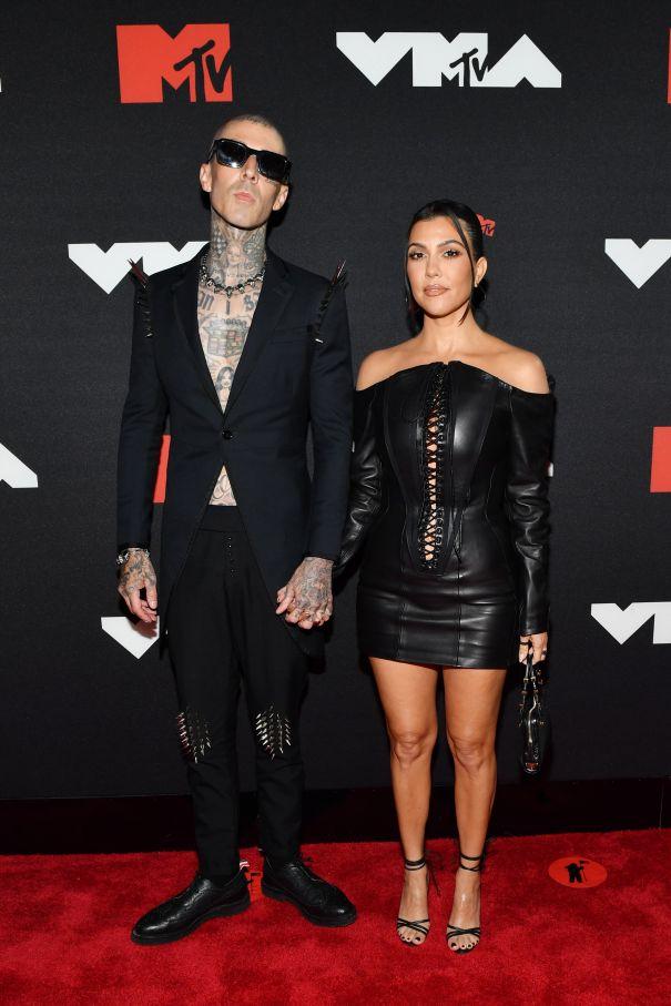 Travis Barker + Kourtney Kardashian