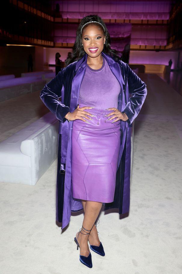 Jennifer Hudson Pretty In Purple