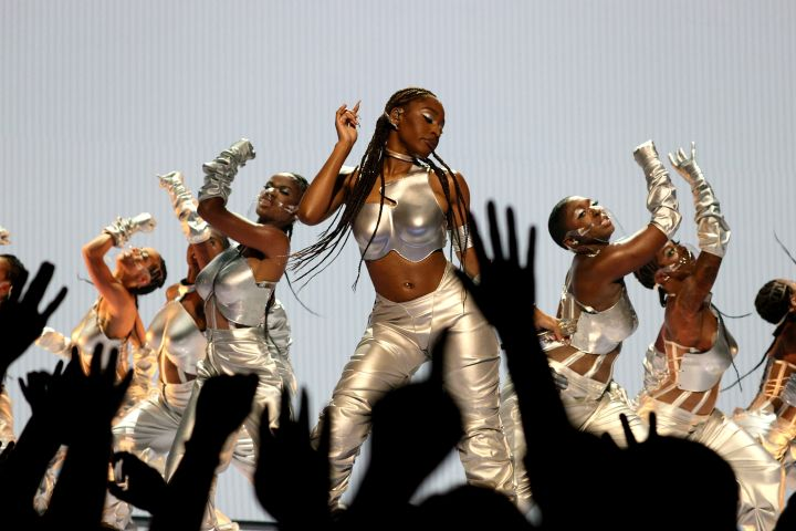 Normani performs onstage during the 2021 MTV Video Music Awards