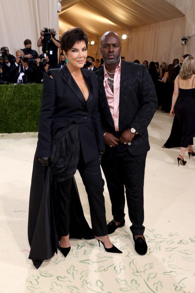 Kris Jenner and Corey Gamble. Photo: John Shearer/WireImage
