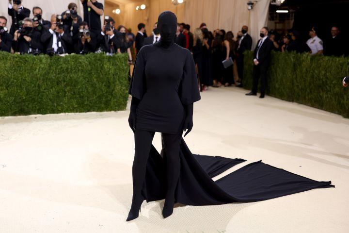 Kim Kardashian attends The 2021 Met Gala