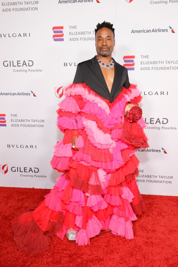 Billy Porter Attends Elizabeth Taylor Ball To End AIDS