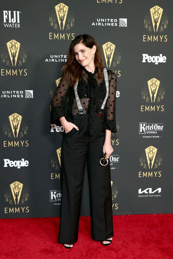 Emmy Nominee Kathryn Hahn Is All Smiles At Television Academy Event