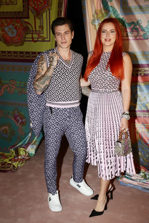 Bella Thorne, Benjamin Mascolo Enjoy Date Night In Milan
