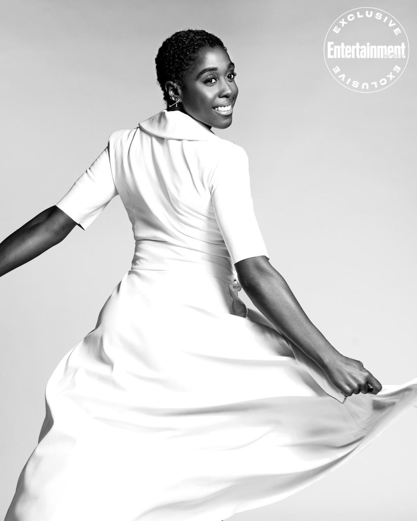 Lashana Lynch photographed exclusively for EW on December 3, 2019 in New York.