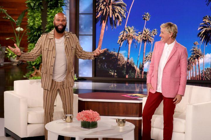 Common, Ellen DeGeneres