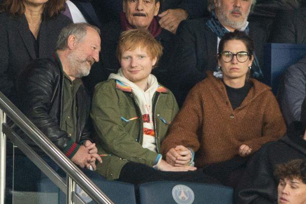 Ed Sheeran & Cherry Seaborn Take In A Game