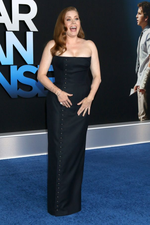 Amy Adams Attends 'Dear Evan Hansen' Premiere