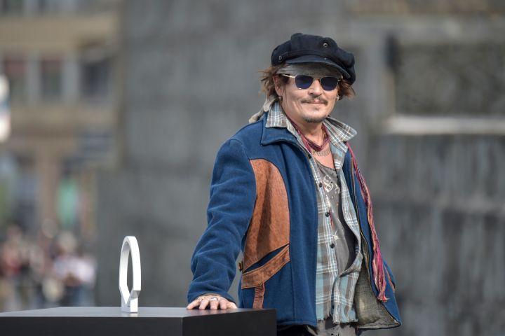 Johnny Depp attends the Donostia Award photocall during the 69th San Sebastian Film Festival at Kursaal, San Sebastian.