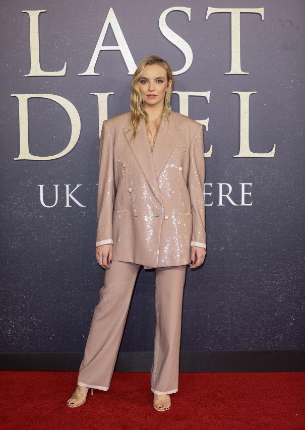 Jodie Comer Attends 'The Last Duel' Premiere
