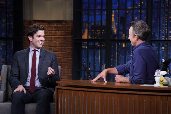John Mulaney, Seth Meyers. Photo by: Lloyd Bishop/NBC