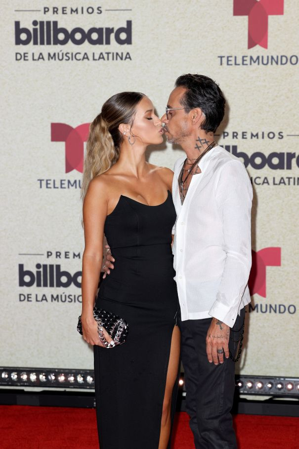 Marc Anthony And New Girlfriend Madu Nicola Make Red Carpet Debut