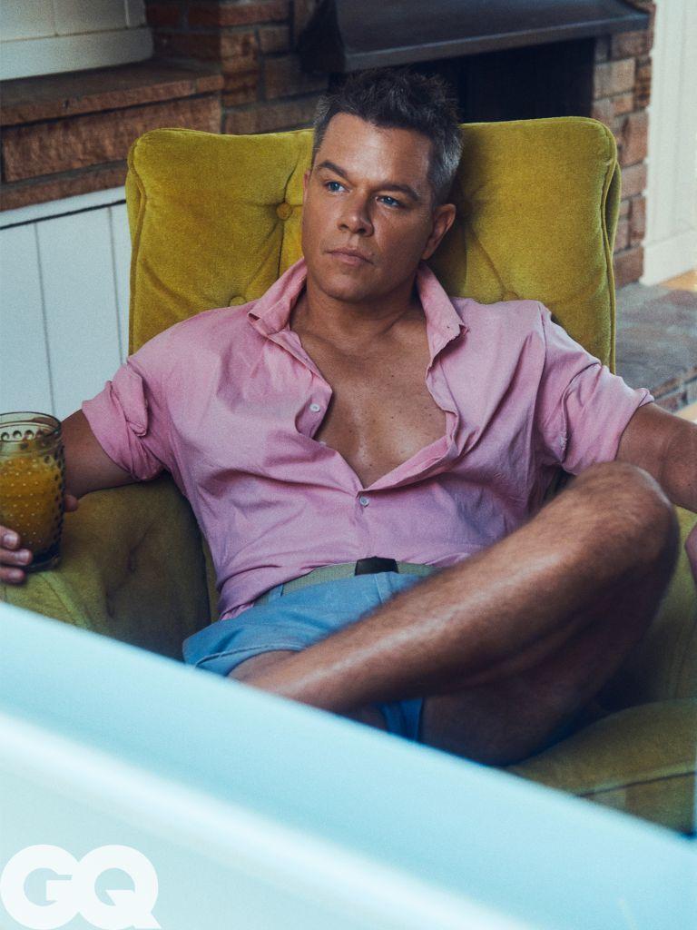 Matt Damon – Photo: Lachlan Bailey/GQ