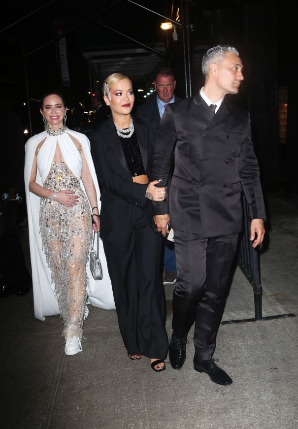 Emily Blunt, Rita Ora And Taika Waititi Head To An After-Party