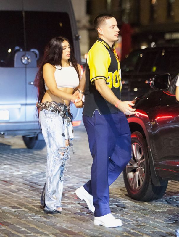 Lourdes Leon Holds Hands With Rumours Beau