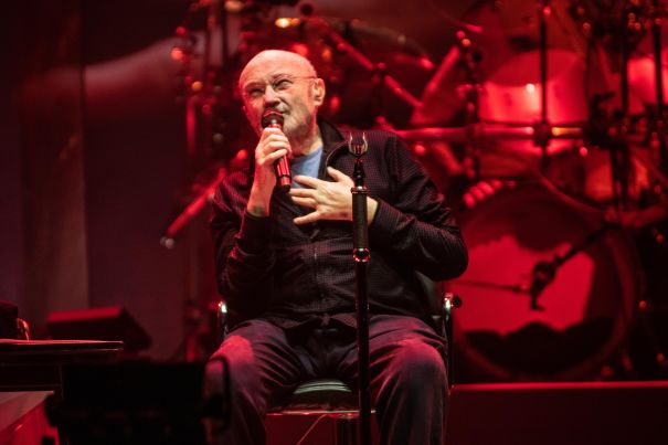 Phil Collins Takes A Seat