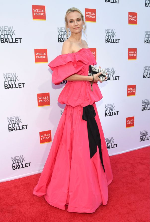 Diane Kruger Is Pretty In Pink At Ballet Gala