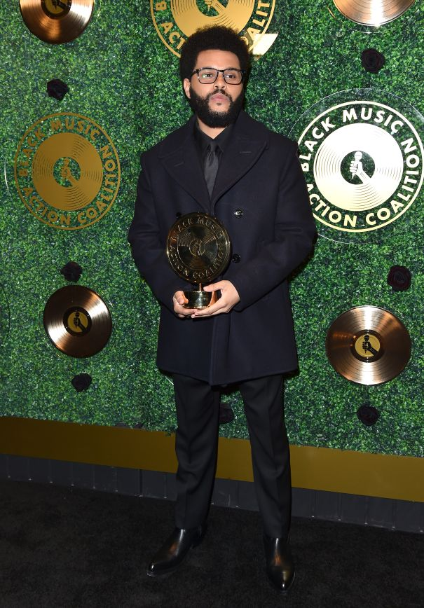 The Weeknd Is Honoured With The Quincy Jones Humanitarian Award