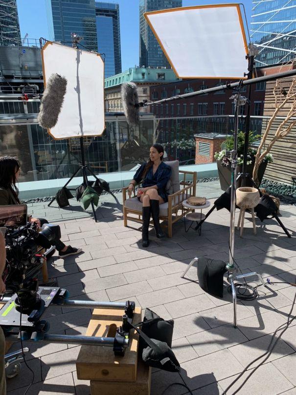 Justine Bateman Discusses Debut Feature Film 'Violet'