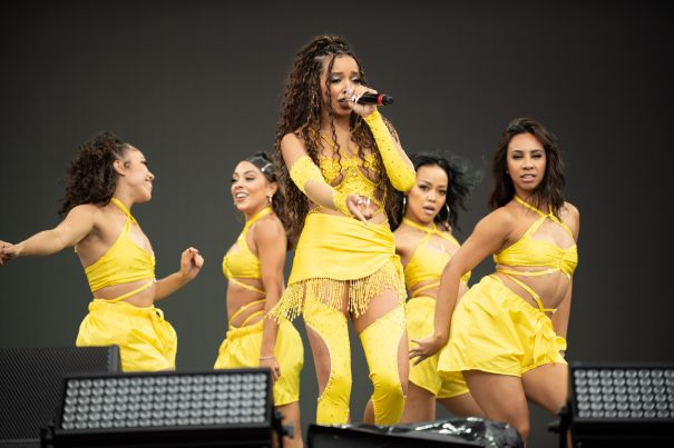 Tinashe Performs At Made In America Festival