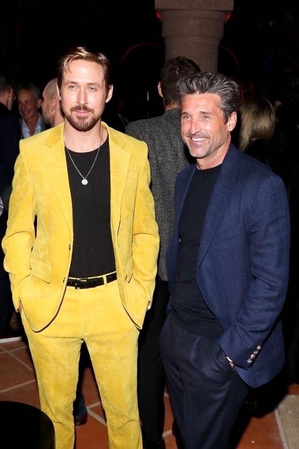 Ryan Gosling, Patrick Dempsey Celebrate Tag Heuer