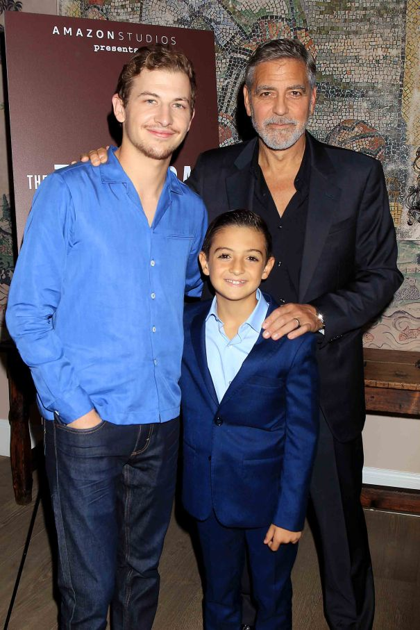George Clooney Celebrates 'The Tender Bar'