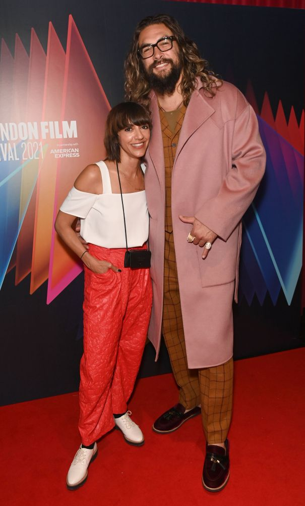 Jason Momoa Supports Ana Lily Amirpour In London
