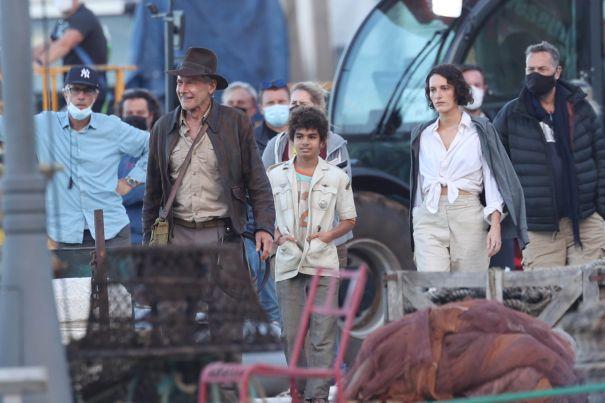 'Indiana Jones 5' Films In Sicily