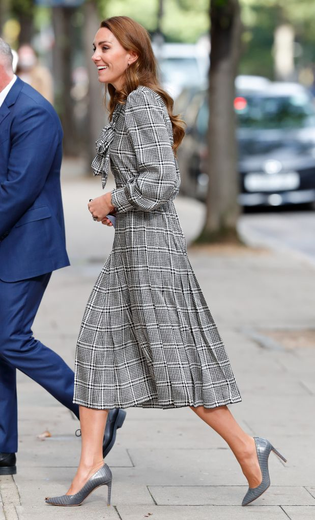 Kate Middleton visits University College London's Centre for Longitudinal Studies