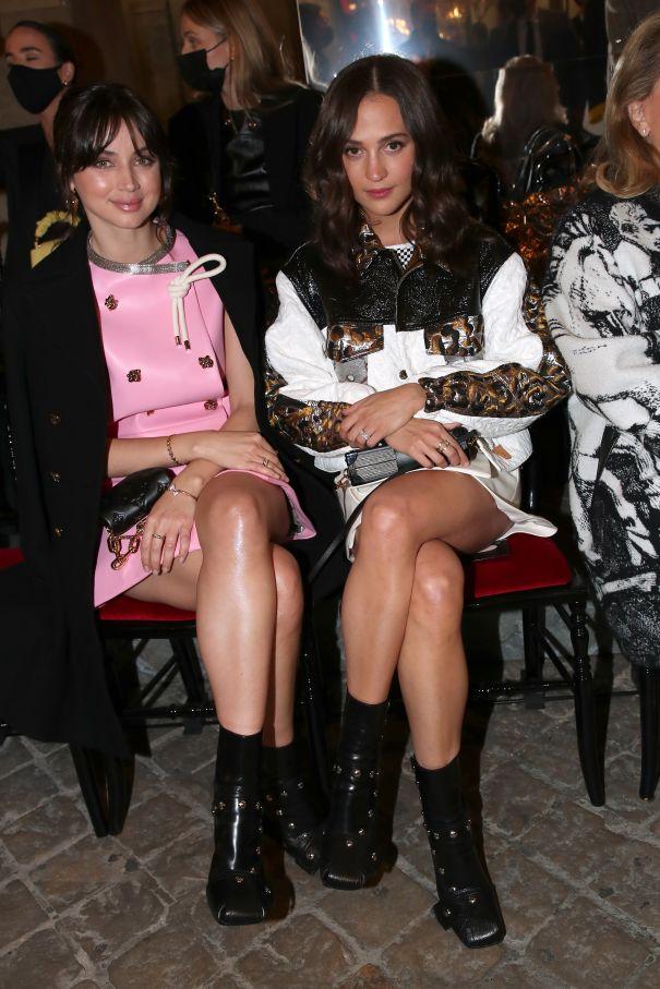 Ana de Armas + Alicia Vikander At Louis Vuitton