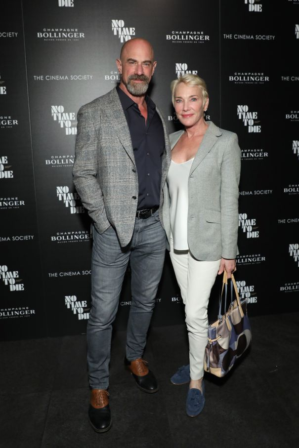 Christopher Meloni And Wife Doris Sherman Williams Attend NYC Screening Of 'No Time To Die'