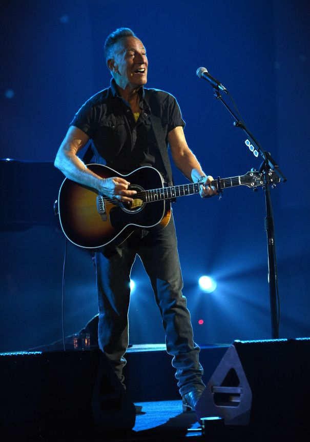 Bruce Springsteen Performs In NYC