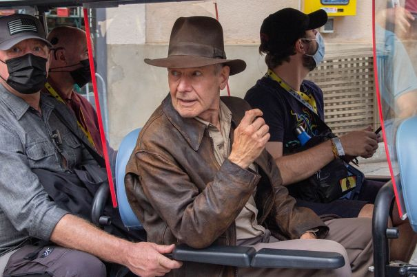 Harrison Ford Returns As Indiana Jones In Italy