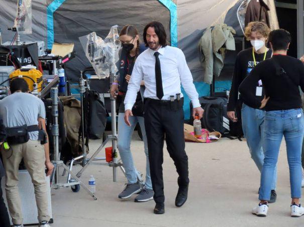 Keanu Reeves Films 'John Wick: Chapter 4'